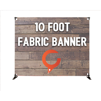 10' Indoor Banner Displays