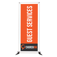 Rectangular Banner Frame Replacement Graphics