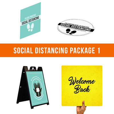 Social Distancing Package 1