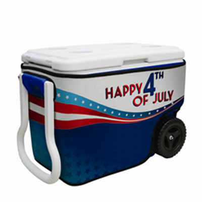 40 Quart Wheeled Cooler