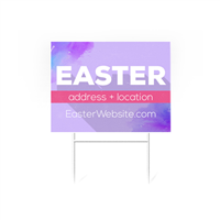 Easter Yard Signs