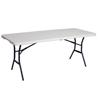 6' Rectangular Folding Table