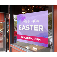 Easter Window Sign