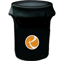55 GAL Printed Trash Can Cover