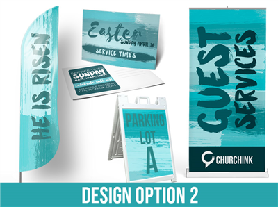 Easter Graphics Package: Design 2
